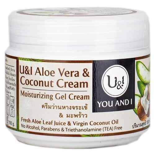 Гель для тела U&I Aloe Vera Coconut Cream с кокосовым кремом, 100 г