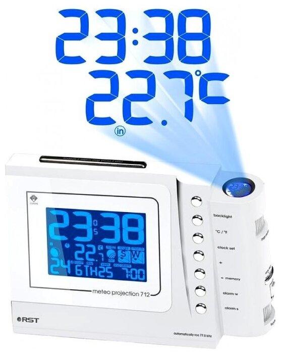 Часы с термометром RST 32712 фото 1