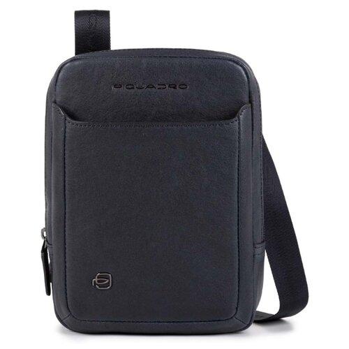 Сумка планшет PIQUADRO CA3084B3, натуральная кожа, синий планшет