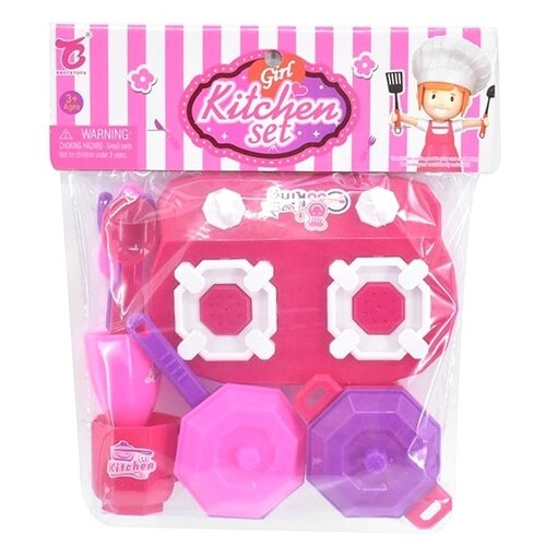 Купить Игровой набор Zhorya ZY1056801 розовый, Детские кухни и бытовая техника