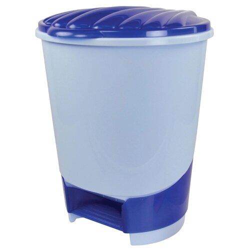 Ведро Альтернатива М1380, 10 л голубой ведро альтернатива хозяюшка цвет сиреневый 7 л