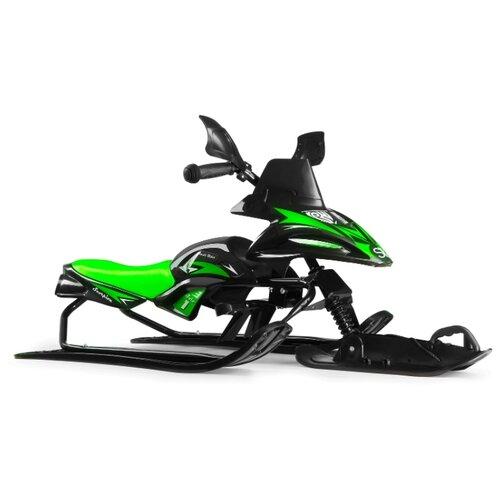 Купить Снегокат Small Rider Scorpion SOLO черный / зеленый, Снегокаты