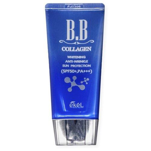 Ekel BB крем Collagen, SPF 50, 50 мл, оттенок: универсальный klapp bb крем cuvee prestige spf 8 30 мл оттенок универсальный