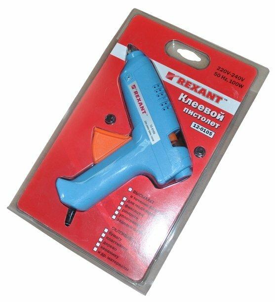 Клеевой пистолет REXANT 12-0105