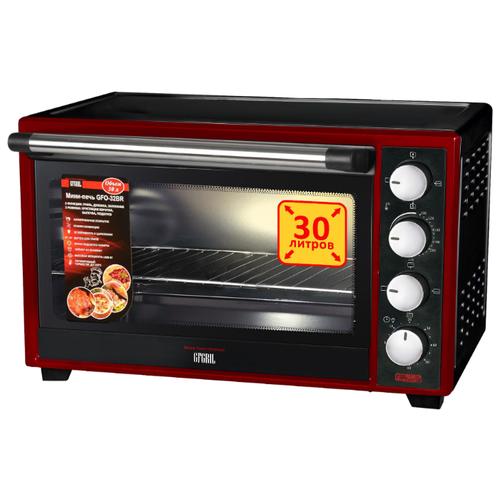 Фото - Мини-печь GFgril GFO-32BR черный/красный мини печь gfgril gfao 500 коричневый