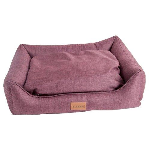 Лежак для собак и кошек Katsu Sofa Opi 102х93х21 см бордовый