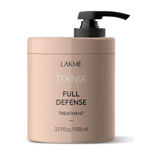 Lakme Teknia Full Defense Treatment Маска для комплексной защиты волос, 1000 мл недорого