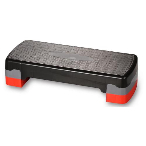 Степ-платформа Indigo HKST105 67х27х15 см черный/красный