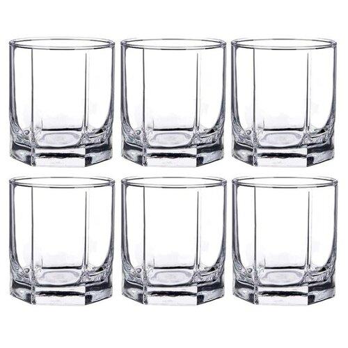 Pasabahce Набор стаканов Picasso 275 мл 6 шт прозрачный набор фужеров для шампанского pasabahce bistro цвет прозрачный 275 мл 6 шт
