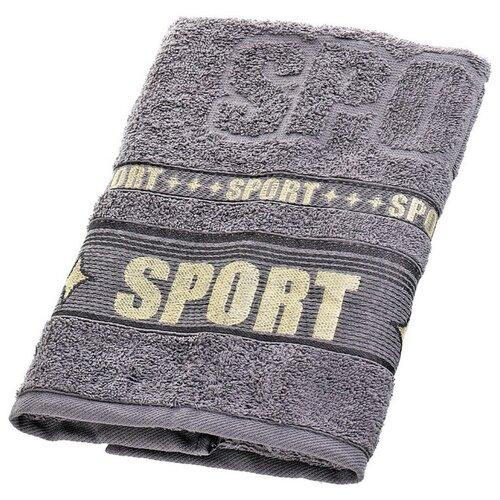 Belezza Полотенце Спорт 50х80 см серый belezza полотенце спорт 50х80 см синий