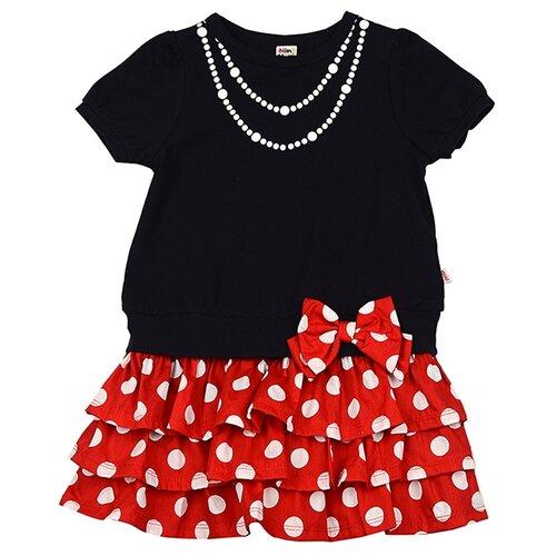 Платье Mini Maxi размер 92, синий/красный платье oodji ultra цвет красный белый 14001071 13 46148 4512s размер xs 42 170