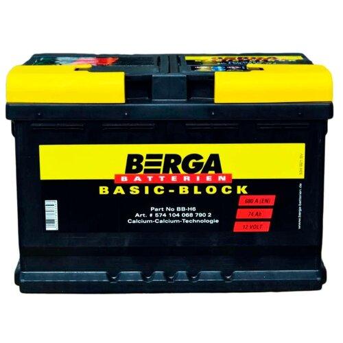 Автомобильный аккумулятор Berga BB-H6-74