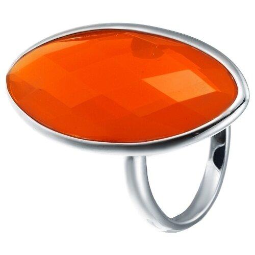 JV Кольцо с ювелирным стеклом из серебра B3160-US-003-WG, размер 18 jv кольцо с ювелирным стеклом из серебра b3198 us 011 wg размер 17 5