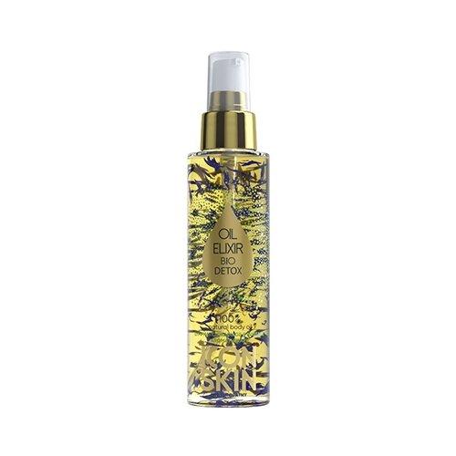 Icon Skin масло моделирующее с лепестками василька Bio Detox 100 мл Желтый