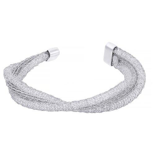 ELEMENT47 Браслет из серебра 925 пробы с фианитами 082-201-001-WG, 18 см