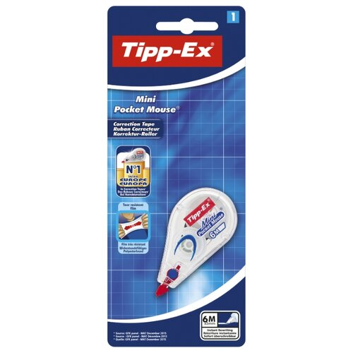 Tipp-Ex Корректирующий роллер Mini Pocket Mouse 5 мм х 5 м белый велосипед trek fuel ex 5 2013