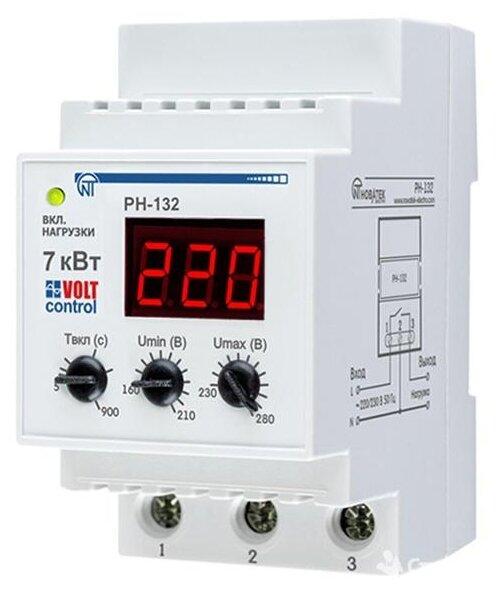Реле контроля напряжения Новатек-Электро РН-132