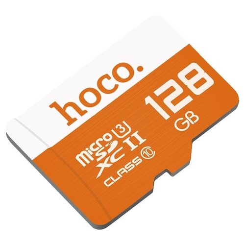 Фото - Высокоскоростная TF карта памяти micro-SD 128GB Hoco карта памяти hoco micro sdhc 8 гб зеленый