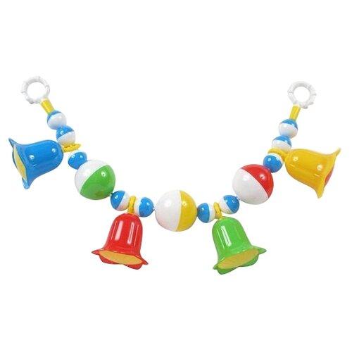 Купить Растяжка Stellar Колокольчики (01545) желтый/зеленый/красный/синий, Подвески