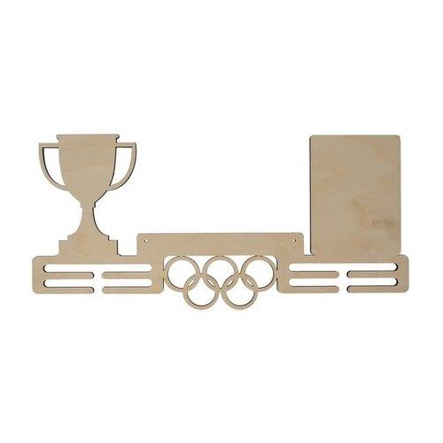 Купить Astra & Craft Деревянная заготовка для декорирования медальница Кубок L-726 береза, Декоративные элементы и материалы