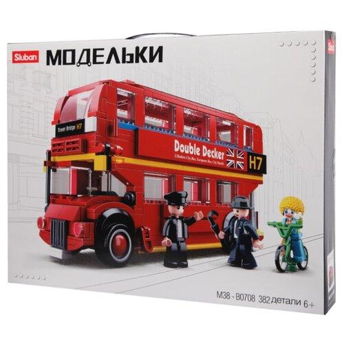 Купить Конструктор SLUBAN Модельки M38-B0708 Лондонский автобус, Конструкторы