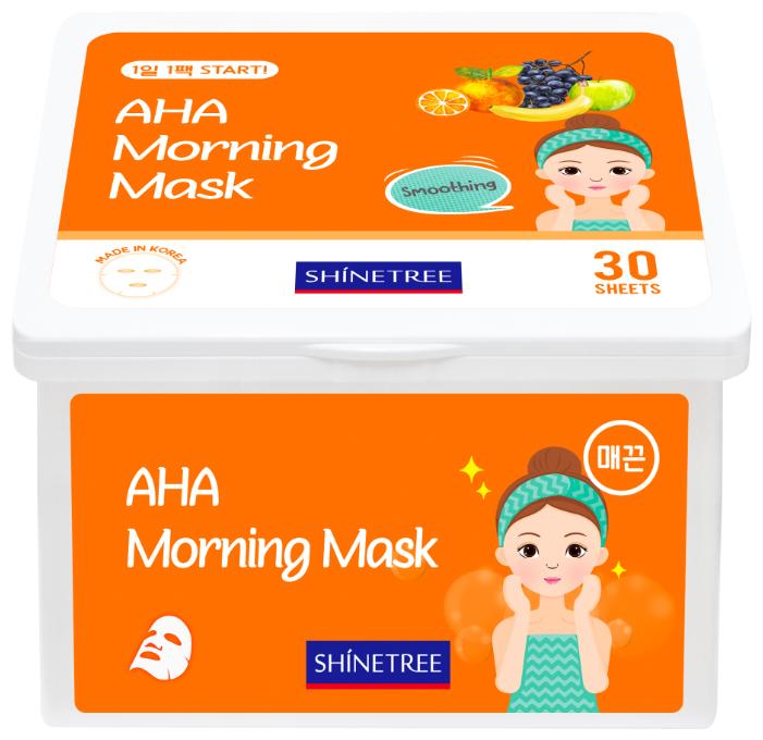 Shinetree Маска утренняя с AHA кислотами разглаживающая