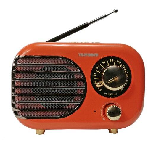 TELEFUNKEN Радиоприемники TF-1682B(оранжевый с золотым)