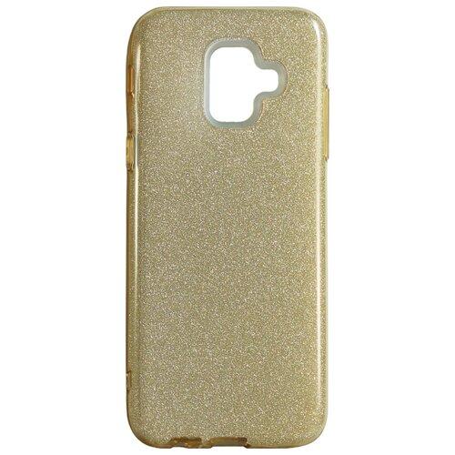 Чехол Akami Shine для Samsung Galaxy A6 золотой