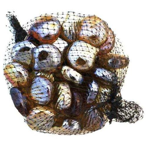 Грунт Шурум-бурум стеклянный ракушка, 0.34 кг золотистый