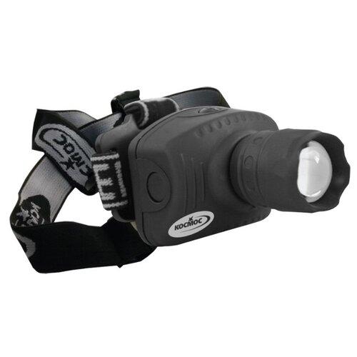 Налобный фонарь КОСМОС H3W-LED черный налобный фонарь fenix raptor hm65r