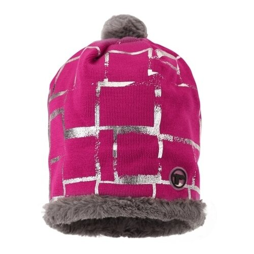 Шапка-бини Reima размер 50, pink шапка reima размер 48 pink