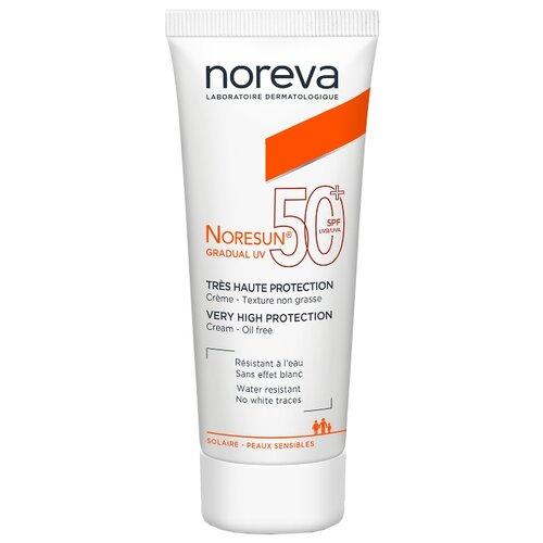 Noreva laboratories крем Noresun Gradual UV, SPF 50, 40 мл, 1 шт noreva норесан градуал крем с очень высокой степенью защиты spf50 40 мл noreva noresun