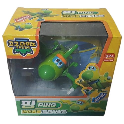 Купить Игрушка трансформер Пин из мультфильма Команда Дино, YOUNG TOYS, Роботы и трансформеры