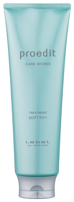 Lebel Cosmetics Маска интенсивно увлажняющая для очень сухих волос Proedit Hair Treatment Soft Fit Plus