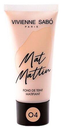 Купить Vivienne Sabo Тональный крем Mat Mattin, 25 мл, оттенок: 04 темно-бежевый по низкой цене с доставкой из Яндекс.Маркета
