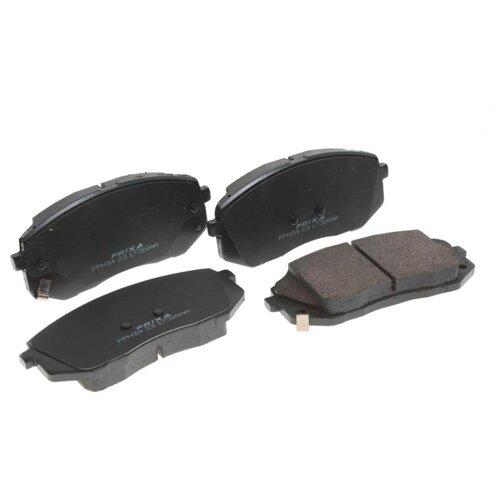Фото - Дисковые тормозные колодки передние Frixa FPH34 для Hyundai ix35, Hyundai Tucson, Kia Sportage (4 шт.) дисковые тормозные колодки передние frixa fpe019 для toyota camry 4 шт