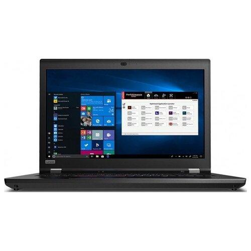 Ноутбук Lenovo ThinkPad P73 (Intel Core i7 9750H 2600MHz/17.3/1920x1080/8GB/256GB SSD/1000GB HDD/DVD нет/NVIDIA Quadro P620 4GB/Wi-Fi/Bluetooth/Windows 10 Pro) 20QR002CRT black ноутбук