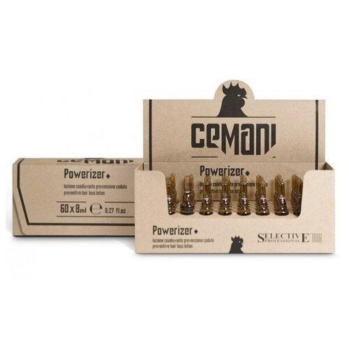 Selective Professional Cemani Powerizer+ Профилактический лосьон против выпадения волос (ампулы), 8 мл, 60 шт.