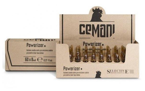 Selective Professional Cemani Powerizer+ Профилактический лосьон против выпадения волос (ампулы)