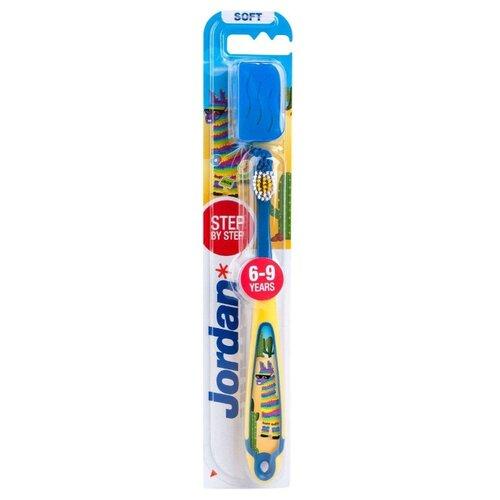 Купить Зубная щетка Jordan Step 6-9, Лама, Гигиена полости рта