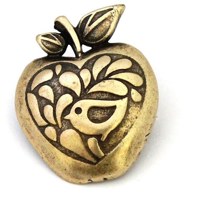 Skifska Etnika Брошь Украинское Барокко Райские яблоки, бронза