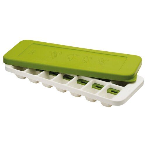Форма для льда Joseph Joseph Quicksnap Plus, 14 ячеек бело-зеленый