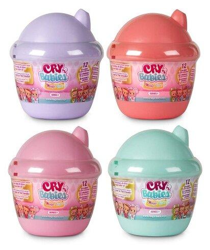 Кукла IMC Toys Cry Babies Magic Tears Плачущий младенец с домиком, 10 см, 98442