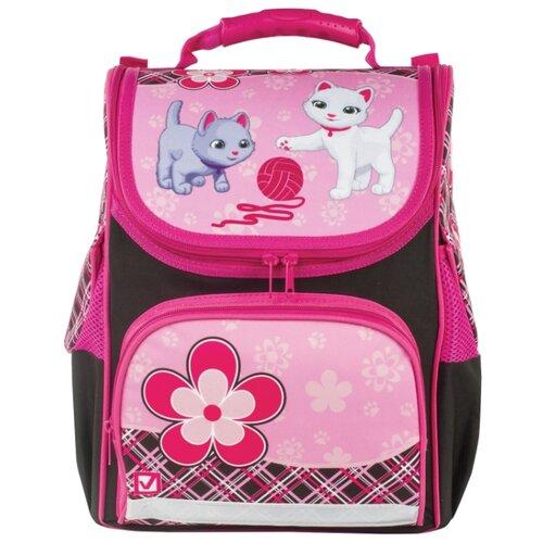 Купить BRAUBERG Ранец Style Котята ХИТ (225320), розовый, Рюкзаки, ранцы