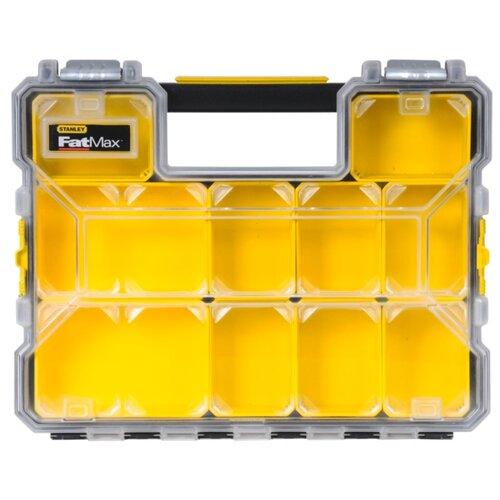 Органайзер STANLEY 1-97-519 44.6x35.7x7.4 см желтый/черный органайзер stanley 1 93 980 36 5x15 5x22 5 см черный