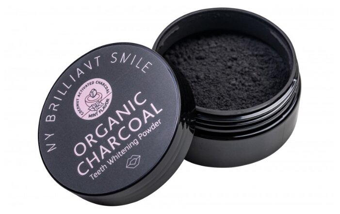 Зубной порошок My Brilliant Smile кокосовый