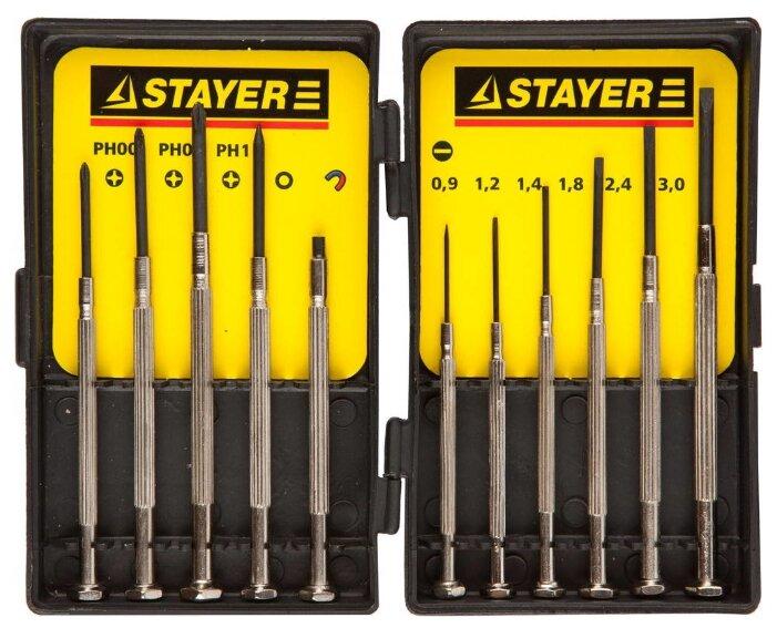 Набор отверток для точных работ STAYER 2560-H11