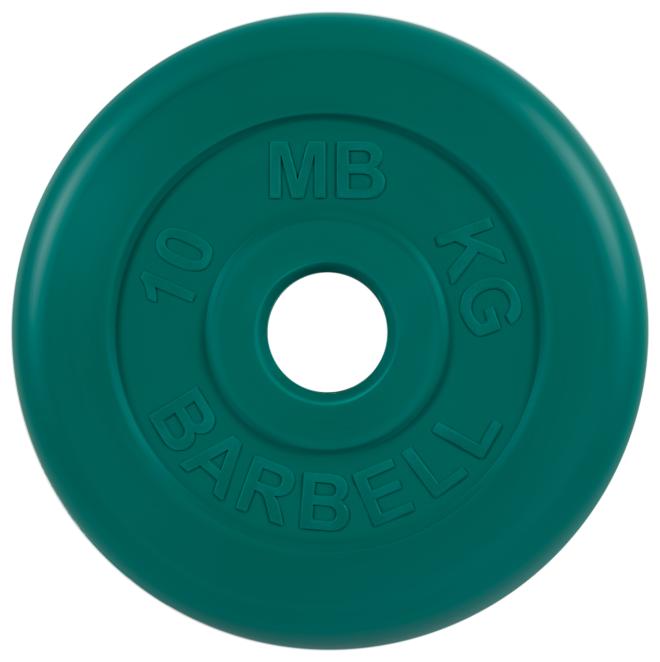 Диск MB Barbell Стандарт MB-PltC51 10 кг