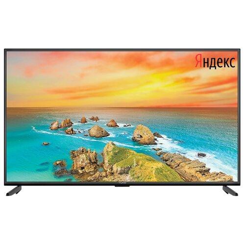 Фото - Телевизор Yuno ULX-43UTCS347 43 (2020) на платформе Яндекса черный телевизор leff 55u610s 55 2020 на платформе яндекса черный