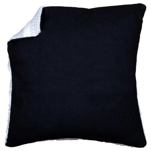 Купить Обратная сторона наволочки без молнии Vervaco, цвет: чёрный, 45x45 см, арт. PN-0174418, Ткани